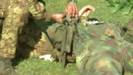Military education and training-first aid video