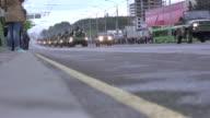 Military equipment - two shots video