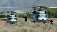 Military Helicopter Start Up video