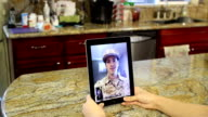 Military Man Tablet Communication MS TrackRight video