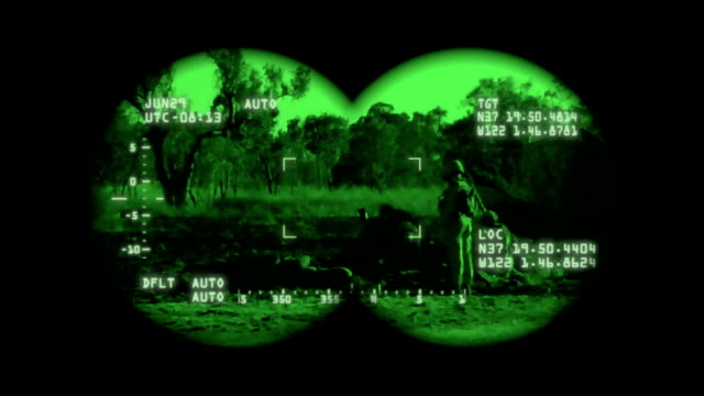 Military Night Vision video