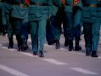 Military parade. video