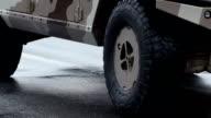 Military SUV video