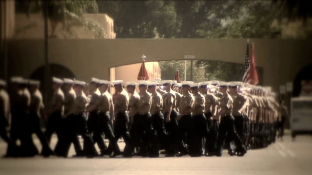 Military_Procession_4722_HD video