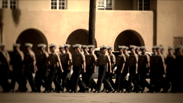 Military_Procession_4723_HD video