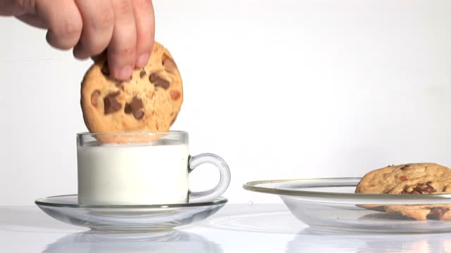 milk and cookies (HD 1080) video