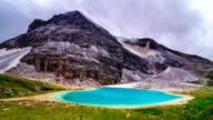 Milk Lake in Yading national level reserve video