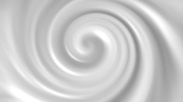 Milk Vortex (loopable) 3D video