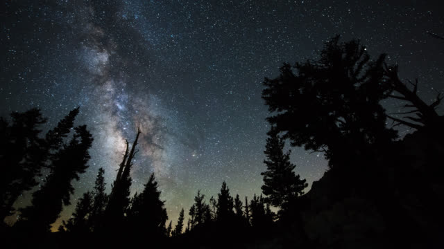 TIME LAPSE: Milky Way and Bristlecone Grove video