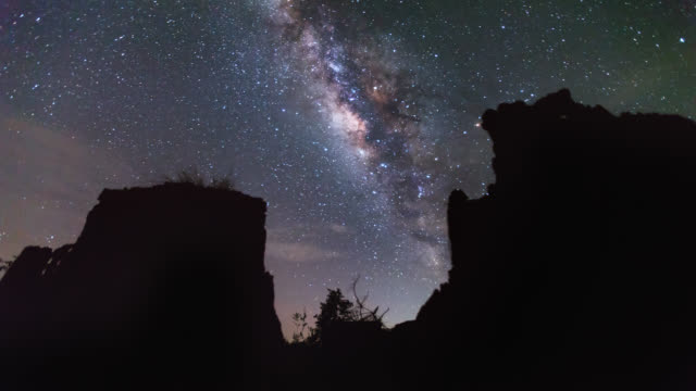 Milky way and Starry night sky in Thailand  Timelapse video