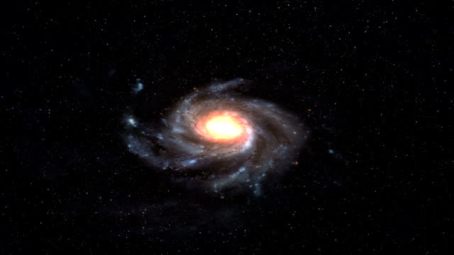 Milky Way Galaxy Space video
