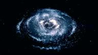 Milky Way Galaxy Space video