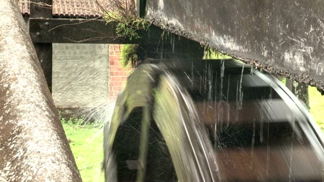 Mill water engine video