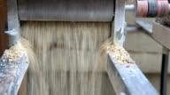 Milling Barley for Brewing Beer video
