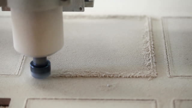 Milling Machine in Operation video