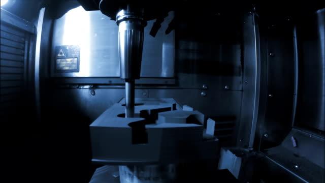 CU TS CNC Milling Process video