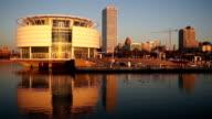 Milwaukee Waterfront Buildings Architecture Lake Michigan video
