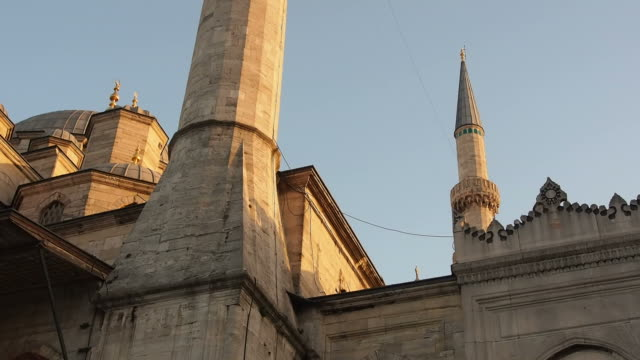 Minarets Of The New Mosque video