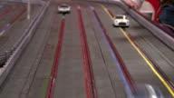 Mini RC Cars on racing track video