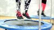 Mini trampoline lessons video