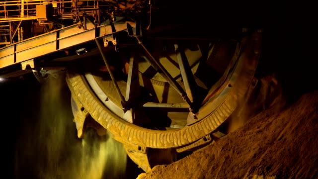 Mining - Bucket Wheel video