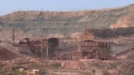 mining in the vast open-pit video