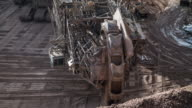 Mining with Bucket Wheel Excavator video