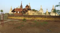 Minochantha Stupa Group in Old Bagan video