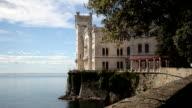 Miramare Castle, Trieste, Italy. video