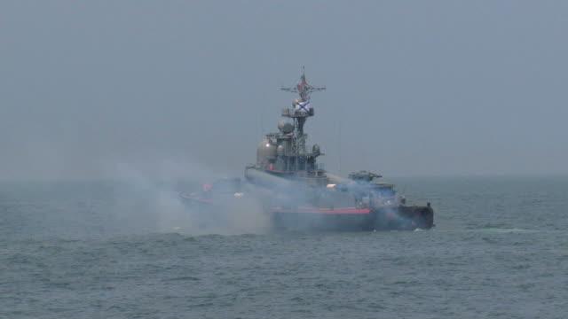 missile boat video