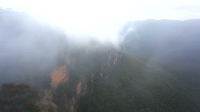 Misty Cloud and The Three Sisters Blue Mountains Australia video