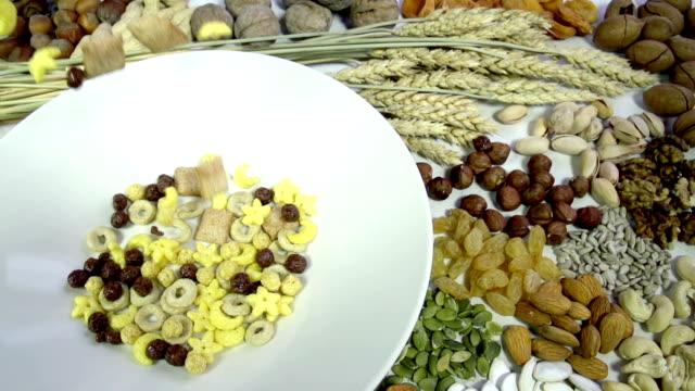 Mix Breakfast Cereal video