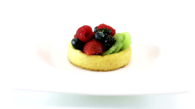Mixed Fruit Tart  HD video