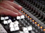 Mixing Console for Audio (NTSC-DV) video