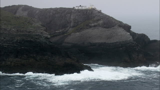 Mizen Head  - Aerial View - Munster,  Cork,  helicopter filming,  aerial video,  cineflex,  establishing shot,  Ireland video