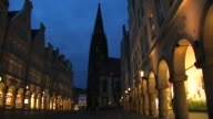 Münster - Prinzipalmarkt, Germany video