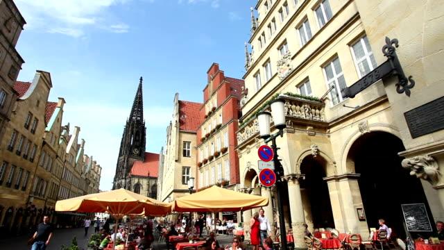Münster Prinzipalmarkt - Time Lapse video
