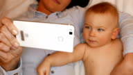 mobile, baby and mom video