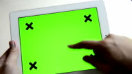 Mobile device Green Screen video