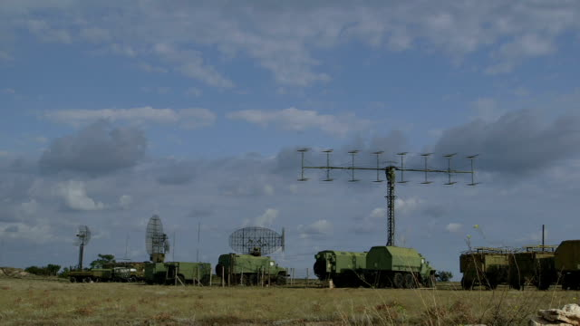 Mobile military air defence system video