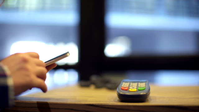 mobile payment ,online shopping concept video
