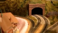 Model Train Coming out of a Tunnel video