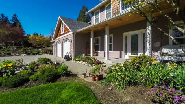 Modern American Suburban Home Exterior video