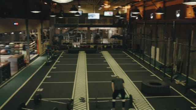 Modern and Big Gym video