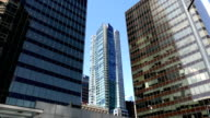 Modern business building in downtown Vancouver BC Canada. video