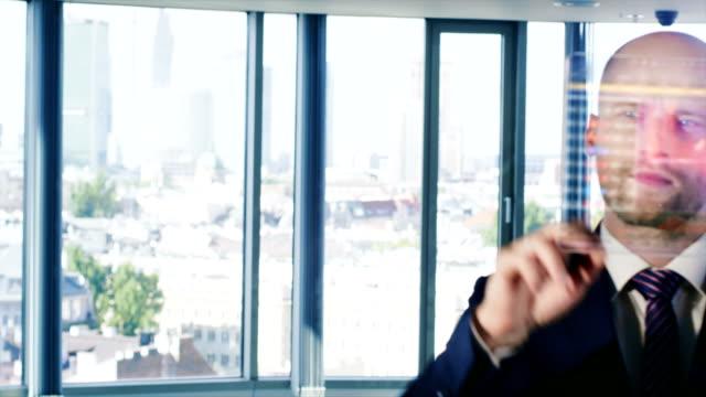 Modern businessman video