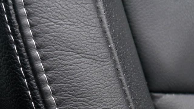 Modern car interior video