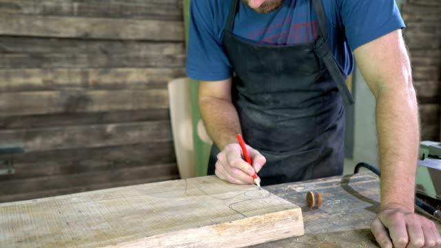 modern carpenter at work video
