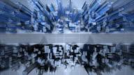 (Loop) Modern Cityscape video
