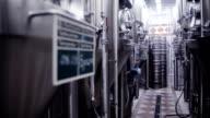 modern German brewery laboratory production video